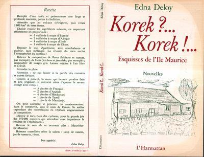 Korek... korek... esquisses de l ile maurice