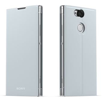 Sony SCSH10 (Xperia XA2) Flip cover - Zilver