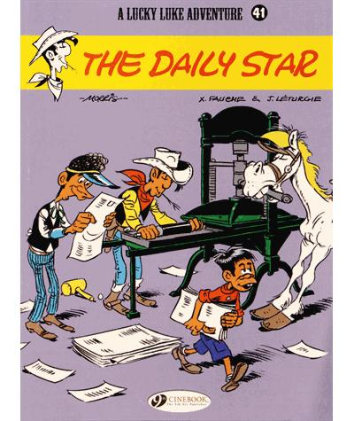 Lucky Luke - tome 41 The Dailly star