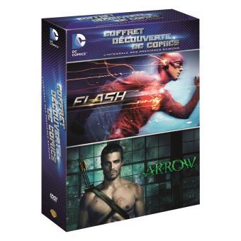 ArrowCoffret Arrow Saison 1 + The Flash Saison 1 DVD