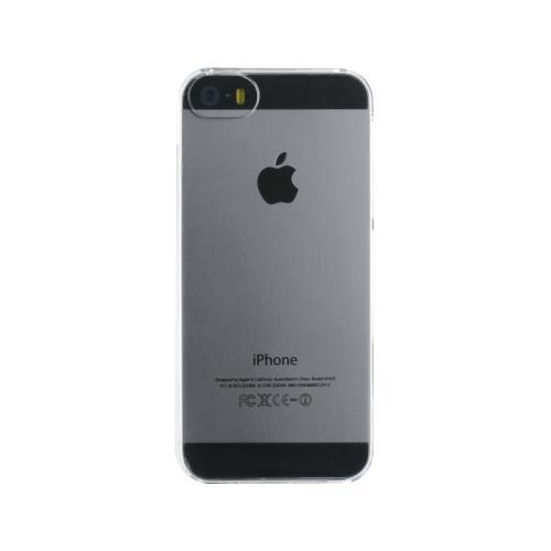 Coque Blueway en silicone pour iPhone 5/5s/SE Transparente