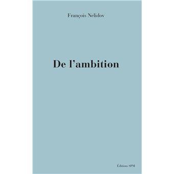 De l'ambition