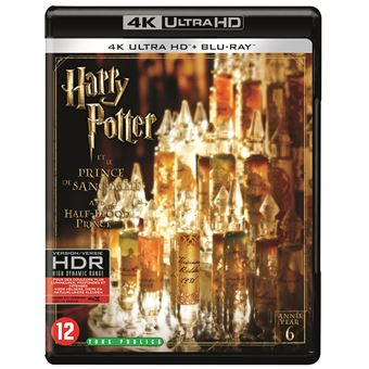 Harry PotterHARRY POTTER 6: AND THE HALF-BLOOD PRINCE-BLURAY4K-BIL