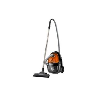 aspirateur tra neau sans sac moulinex compacteo ergo cyclonic mo5325pa 1 5 l noir et orange. Black Bedroom Furniture Sets. Home Design Ideas