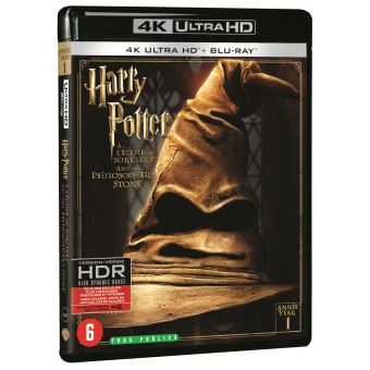 Harry PotterHARRY POTTER 1:AND THE PHILOSOPHER'S STONE-BIL-BLURAY 4K