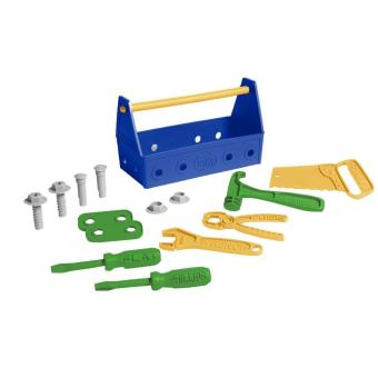 Caisse à outils Green Toys Bleu