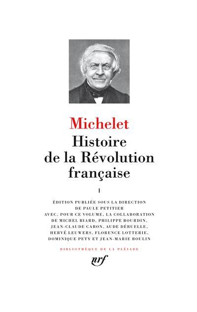 Histoire de la Révolution française (Tome 1)