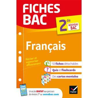 Fiches Bac Francais 2de