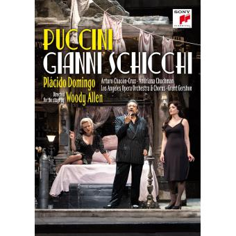 Gianni Schicchi Los Angeles 2015 Blu-ray