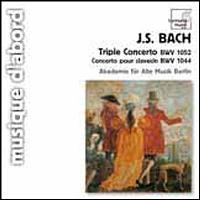 Triple Concerto BWV1052