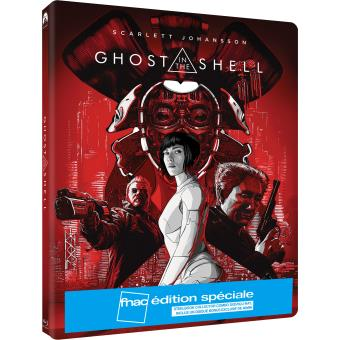 Ghost in the Shell Edition Spéciale Fnac Steelbook Blu-ray DVD