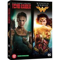 Coffret Tomb raider Wonder Woman DVD