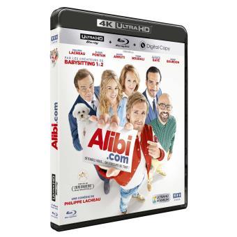 Alibi.com Blu-ray 4K Ultra HD