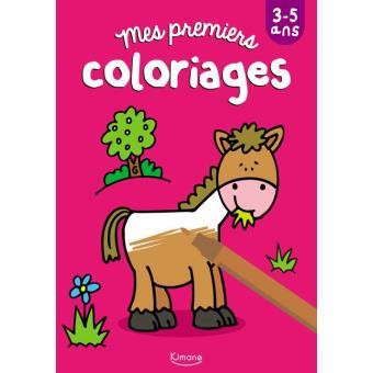 Mes Premiers Coloriages Cheval Coll Mes Premiers Jeux Et Coloriages Broche Collectif Achat Livre Fnac