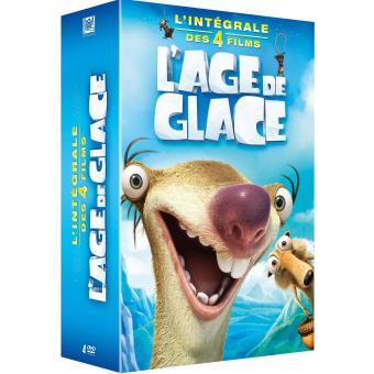 L'âge de glaceCoffret L'Âge de Glace L'Intégrale Edition spéciale Fnac DVD