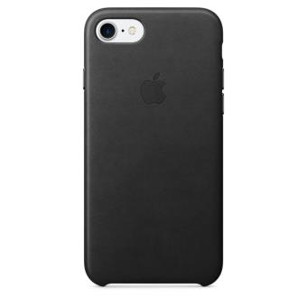 coque en cuir apple pour iphone 7 noir etui pour t l phone mobile achat prix fnac. Black Bedroom Furniture Sets. Home Design Ideas