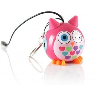 MY DOODLE MINI BUDDY OWL SPEAKER (PINK)