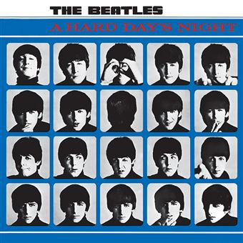 The Beatles - A Hard Days Night Album Cover - Canvas