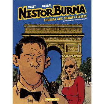 Nestor BurmaCorrida aux Champs-Elysées