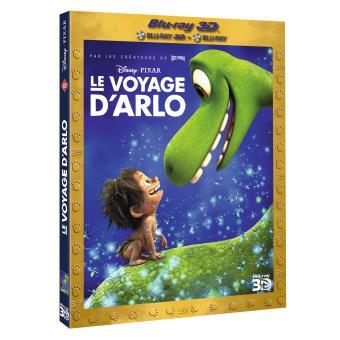 Le voyage d'Arlo Blu-ray 3D + 2D