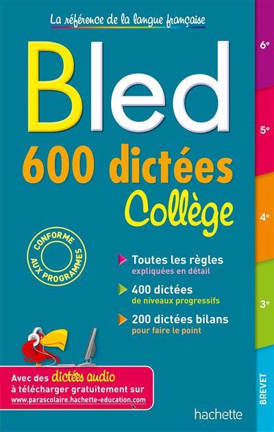 Résultats de recherche d'images pour «dictée Bled»