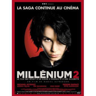 MilléniumMillénium 2 : La Fille qui rêvait d'un bidon d'essence et d'une allumette DVD