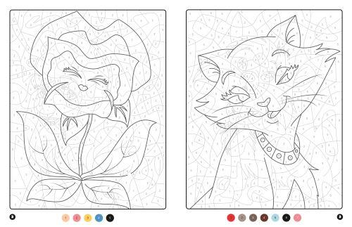 Coloriage Magique Disney.Les Grands Classiques Disney Coloriages Magiques Trompe L œil