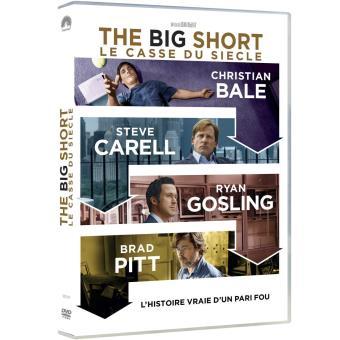 The Big Short Le Casse du siècle DVD