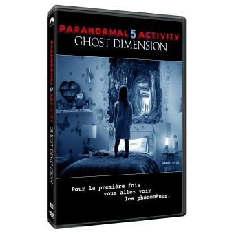 Paranormal activityParanormal activity 5 : Ghost dimension DVD