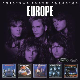 Quels sont vos derniers Achats Metal ? - Page 41 Europe-The-original-album-claics-5-CD