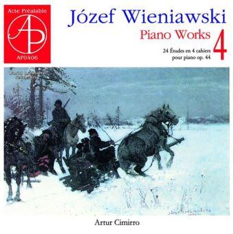 Œuvres pour piano Volume 4