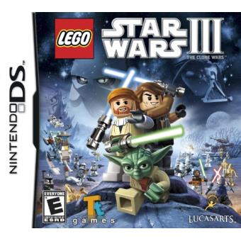 LEGO STAR WARS 3 THE CLONE WARS DS