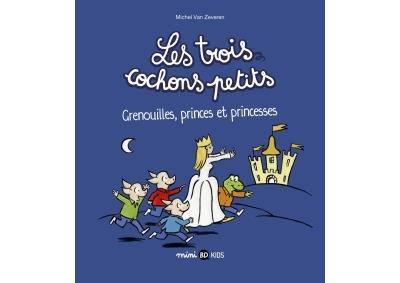 Grenouilles, princes et princesses