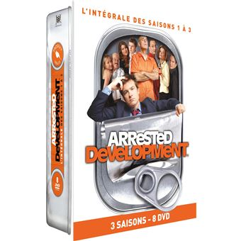 Arrested developmentCoffret Arrested Development Saisons 1 à 3 DVD