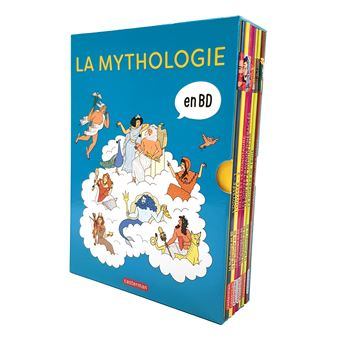 La Mythologie En Bd Coffret 8 Volumes La Mythologie En Bd