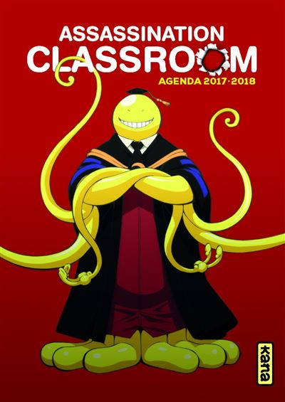 Agenda 2017-2018 Assassination classroom