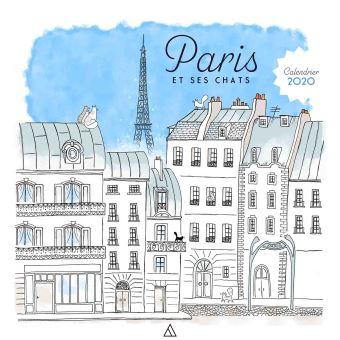 Achat Calendrier 2020.Calendrier 2020 Les Chats De Paris