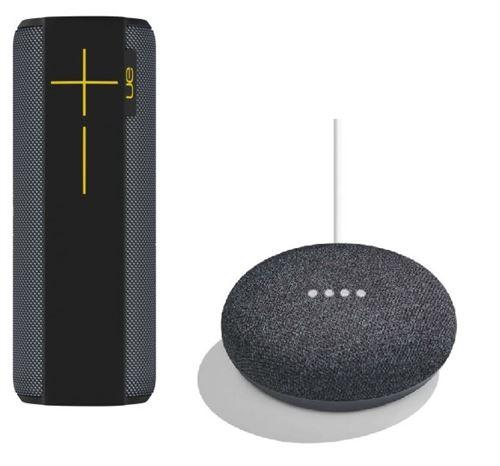 Enceinte sans fil bluetooth, portatif, Son à 360°, portée 30 metres