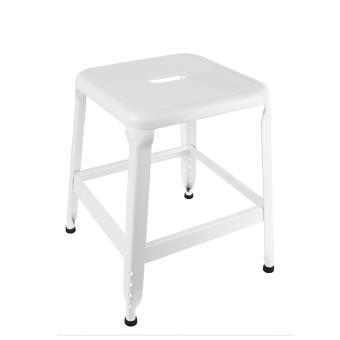 tabouret the concept factory m tal blanc petit mod le m4 achat prix fnac. Black Bedroom Furniture Sets. Home Design Ideas