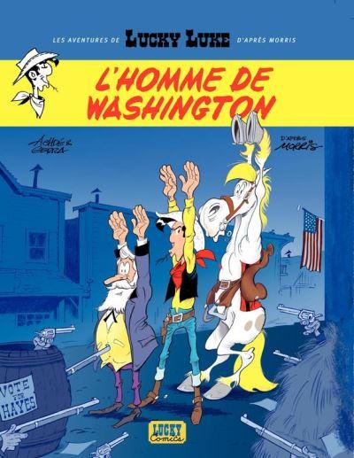 Les aventures de Lucky Luke d'après Morris - Tome 3 - L'homme de Washington - 9782884717427 - 5,99 €