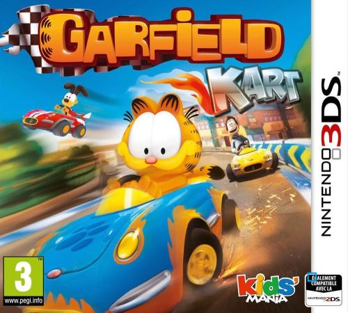 Garfield Kart Nintendo 3DS