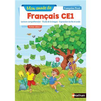 Mon année de Français CE1 Fichier d'exercices Workbook