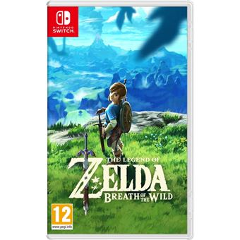 ZELDA BREATH OF THE  WILD NL SWITCH