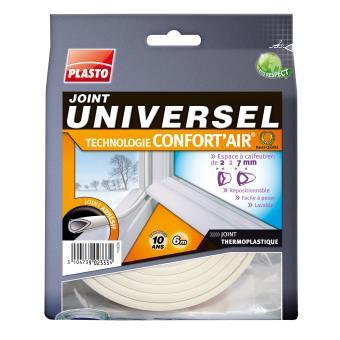 5 sur joint universel plasto confort 39 aid blanc 6 m colle et produits de fixation achat. Black Bedroom Furniture Sets. Home Design Ideas