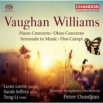Piano Concerto Oboe Concerto Serenade to Music Flos Campi