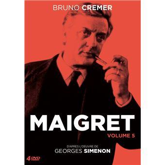 Le commissaire MaigretMaigret/volume 5/coffret 4 dvd