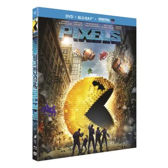 Pixels Combo Blu-ray + DVD Inclus UV
