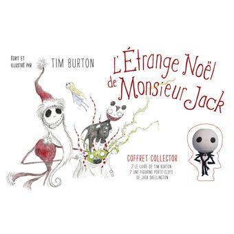 Coffret Collector L Etrange Noel De M Jack Coffret Avec 1 Album Et 1 Figurine Porte Cle Coffret Burton Tim Achat Livre Fnac