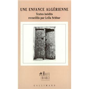 Une enfance algérienne