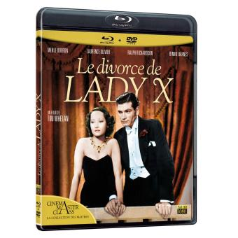 Le divorce de Lady X Combo Blu-Ray + DVD